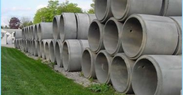 Concrete rings: specifications, dimensions, volume