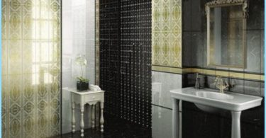 Russian tiles for the bathroom