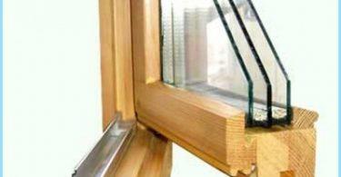 วิธีที่จะทำให้หน้าต่างไม้กับกระจกสองชั้น