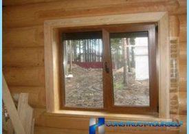 วิธีการติดตั้งหน้าต่างพลาสติกในบ้านไม้ตัวเอง