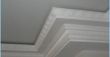 รูปแบบ plinths เพดาน