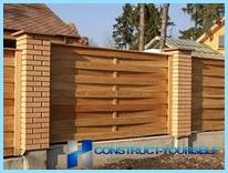 สร้างรั้วรั้วไม้
