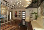 การออกแบบเพดานสำหรับห้องนั่งเล่น