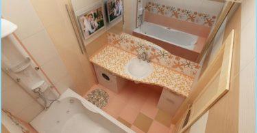 ซ่อมแซมที่ทันสมัยห้องน้ำขนาดเล็กใน Khrushchev