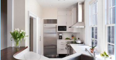 ห้องครัวขนาดเล็กการออกแบบตกแต่งภายใน