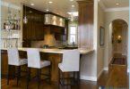 ห้องครัวที่มีบาร์อาหารเช้า: การออกแบบที่ทันสมัย