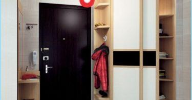 การออกแบบห้องโถงขนาดเล็กด้วยมือของเขา
