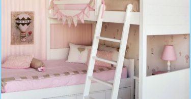 ห้องพักของเด็กสำหรับเด็กผู้หญิงสองคน