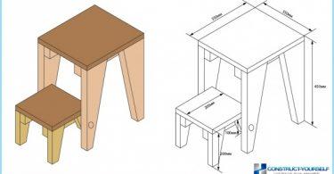 เก้าอี้กระได: ภาพถ่าย, วิดีโอ, ภาพวาด