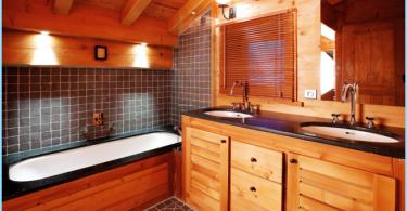 วิธีที่จะทำให้ห้องน้ำในบ้านไม้