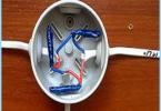 ขับรถ rasklyucheniya หรือการเชื่อมต่อของสายไฟฟ้าในกล่องแยก